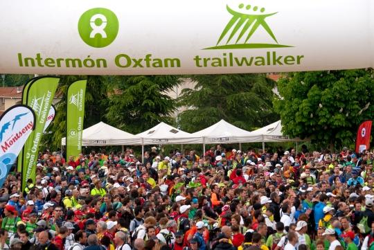 Intermón Oxfam Trailwalker 2011